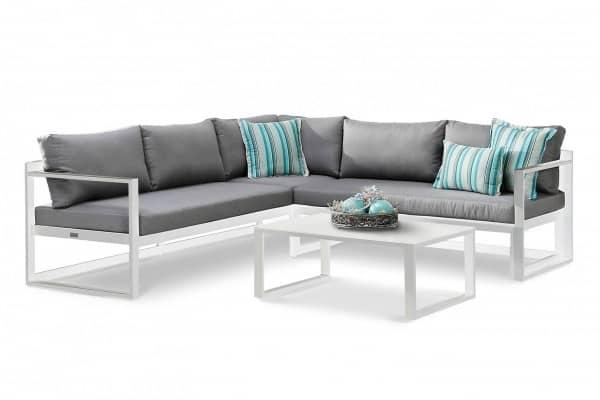 Aluminium Lounge Rhodos 5-Personen