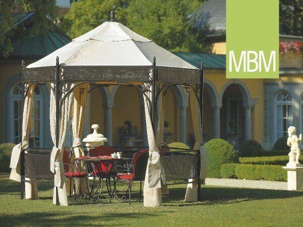 "Schmiedeeisen Pavillon ""Romeo Romantic"" von MBM : Gartenmode.de"