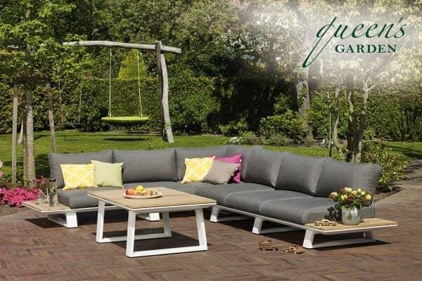Queen S Garden Aluminium Lounge 6 Sitzer Too Design Gartenmobel