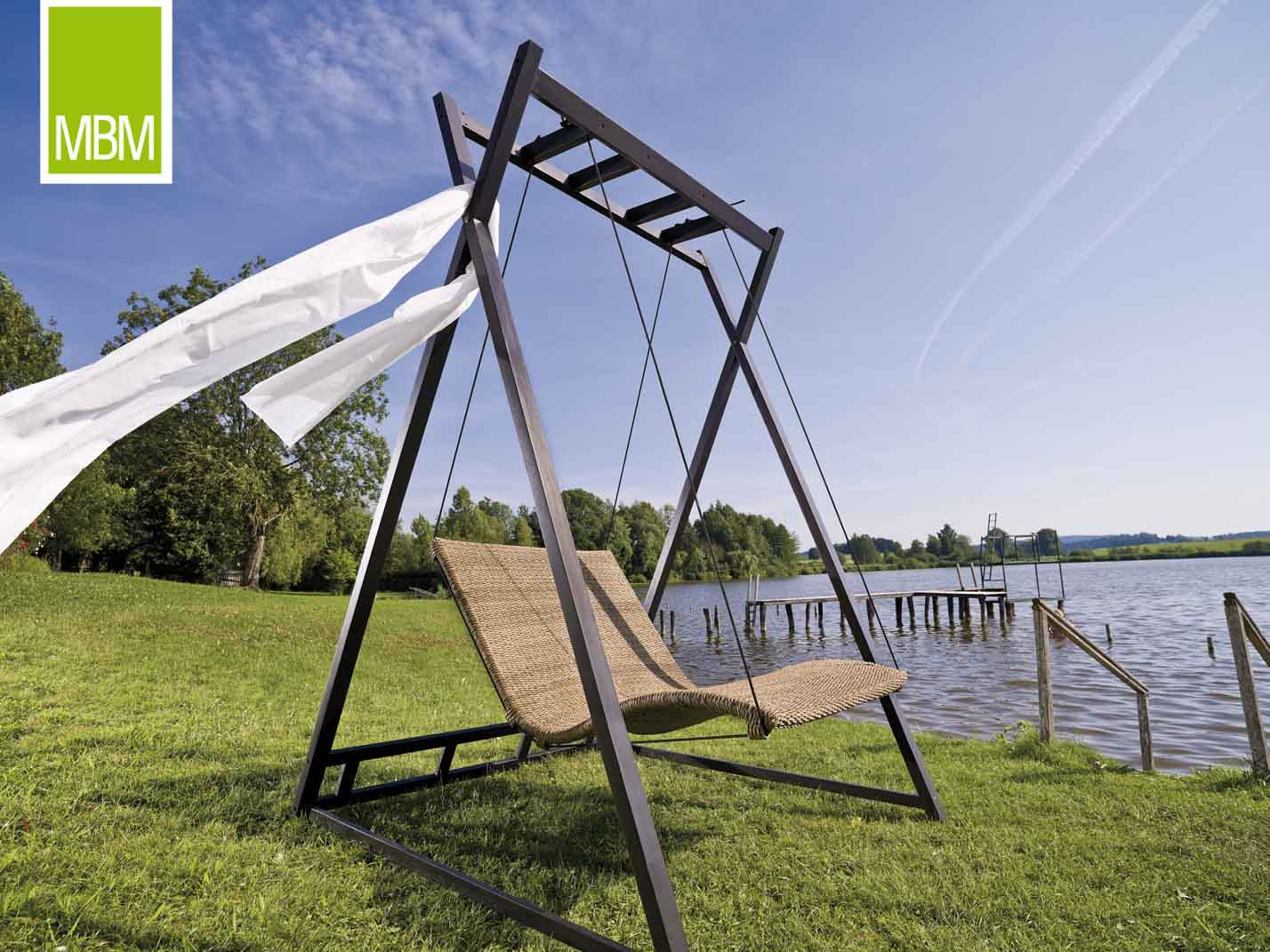 MBM Mirotex-Twist Gartenschaukel Heaven Swing   TOO-Design Gartenmöbel