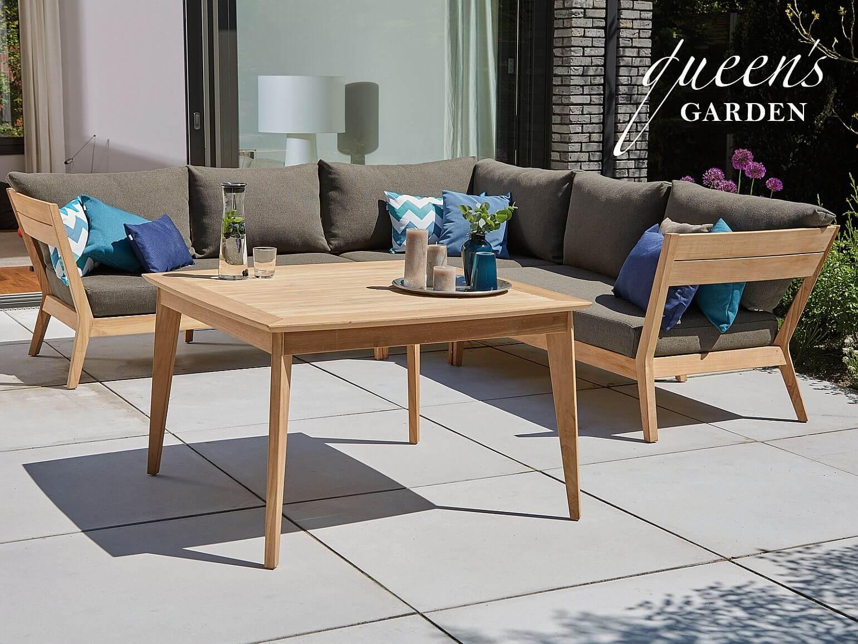 queen s garden teakholz dining lounge kent too design. Black Bedroom Furniture Sets. Home Design Ideas