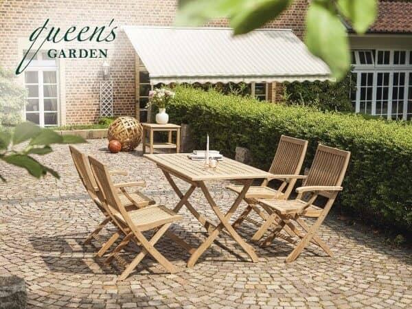Teakholz Queen´s Garden Sitzgruppe York 4-Personen