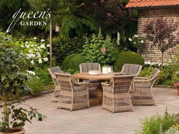 """Queen's Garden Gardino-Pro Sitzgruppe """"Allegro"""" : gartenmode.de"""