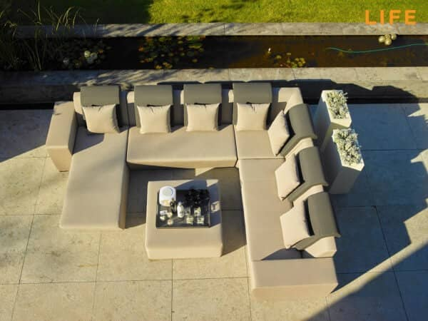 Life Aluminium Lounge Nuna