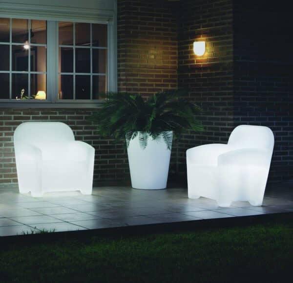 LED beleuchtetes Lounge-Set Panama in italienischem Design