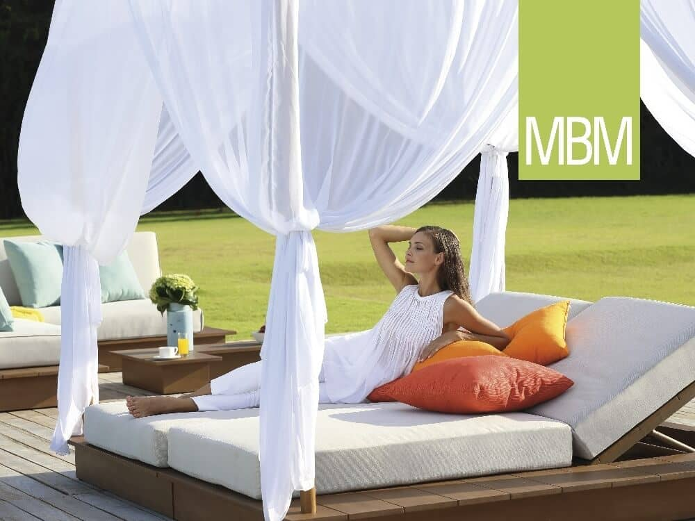 mbm resysta sonnenliege la villa daybed too design gartenm bel. Black Bedroom Furniture Sets. Home Design Ideas