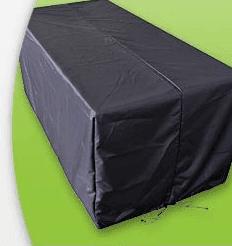 Wetterschutz für die Polyrattan Kissenbox L