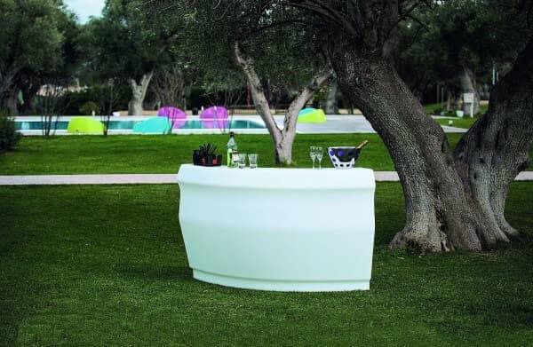 "LED beleuchtetes Bar-Set ""Pemba"" italienisches Design: Gartenmode.de"
