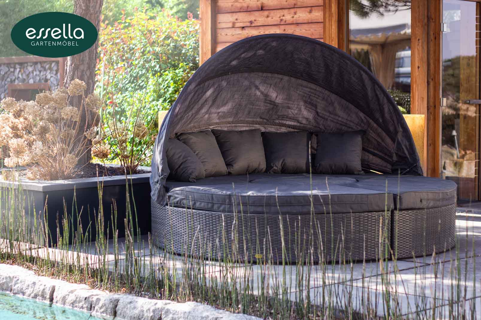 essella polyrattan sonneninsel honolulu flachgeflecht. Black Bedroom Furniture Sets. Home Design Ideas
