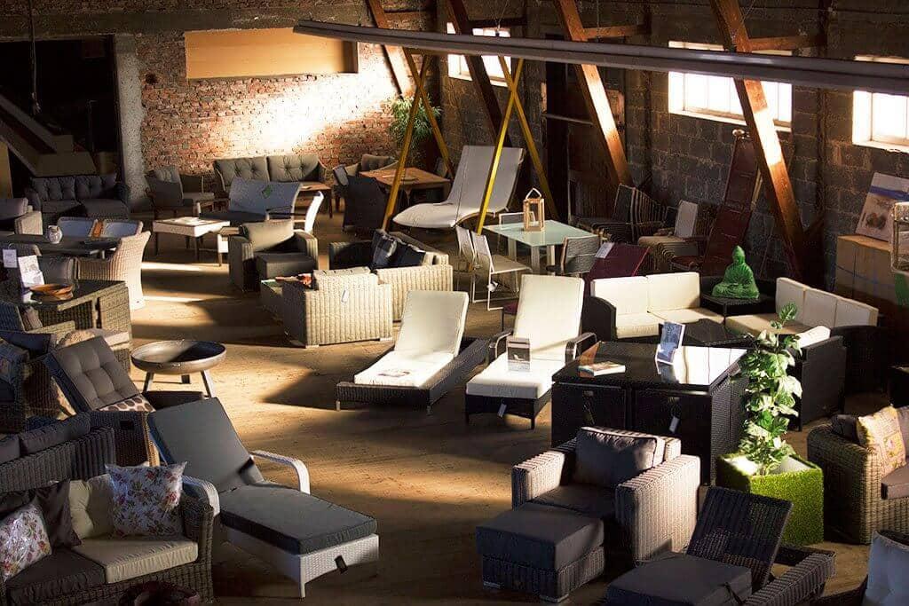 Große Gartenmöbel Ausstellung in Offenburg | TOO-Design Gartenmöbel
