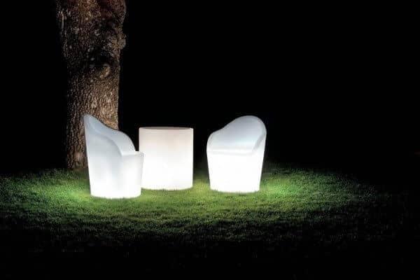 LED beleuchtetes Lounge-Set Tahiti in italienischem Design