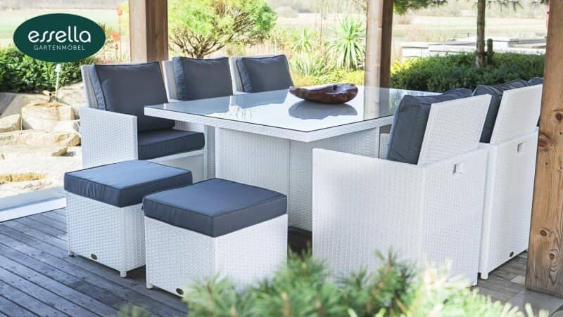 exklusive essella polyrattan gartenm bel vom hersteller too design. Black Bedroom Furniture Sets. Home Design Ideas