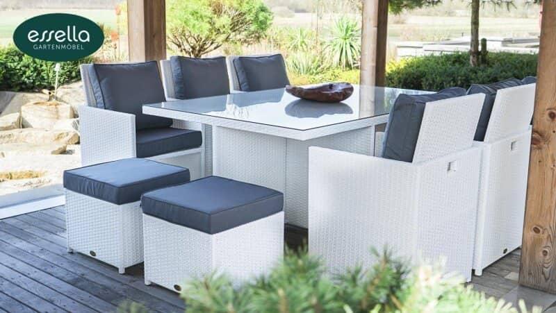 exklusive essella polyrattan gartenm bel vom hersteller. Black Bedroom Furniture Sets. Home Design Ideas