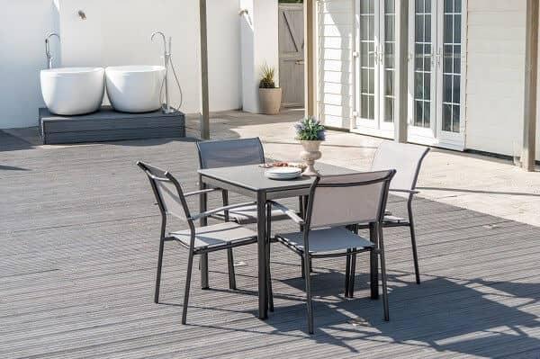 Aluminium Sitzgruppe Portofinio Lite