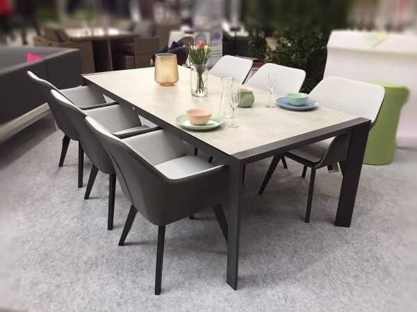 Siena Garden Aluminium Sitzgruppe Alina Camilo 6-Personen anthrazit 01