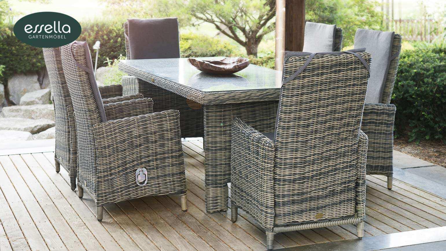 Polyrattan Möbel für Gewerbe, Hotel und Gastronomie » gartenmode.de ♥