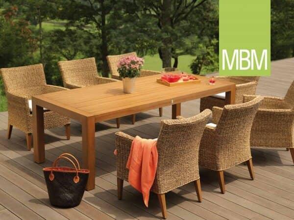 "MBM Mirotex-Twist & Resysta Sitzgruppe ""Madrigal"" : gartenmode.de"