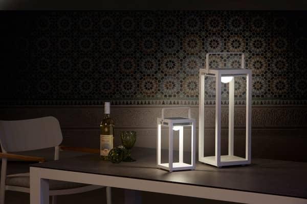 Aluminium Solarleuchte Best-Light weiss