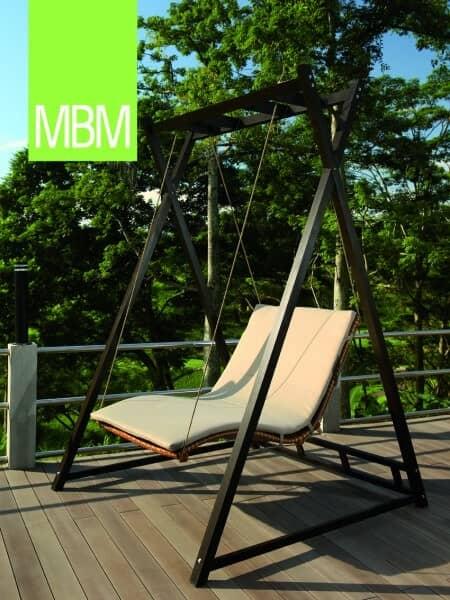 """MBM Mirotex-Twist Gartenschaukel """"Heaven Swing"""" : gartenmode.de"""