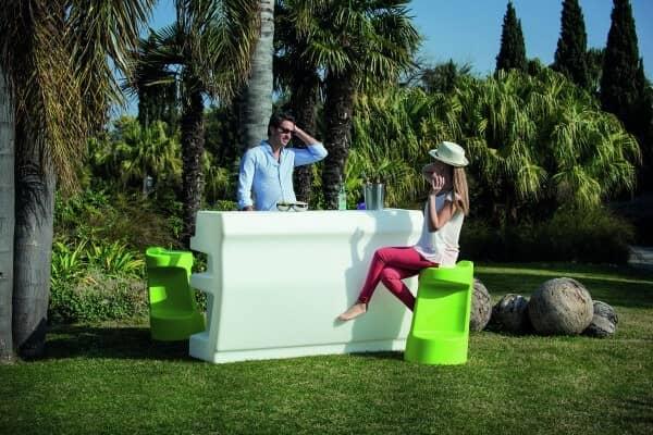 """LED beleuchtetes Bar-Set """"Zanzibar"""" italienisches Design: Gartenmode.de"""