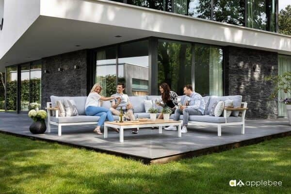 Aluminium Lounge Dreamer 5-Personen